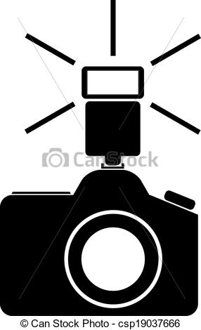 286x470 Camera Flash Clipart Camera With Flash Vector Illustration Clip