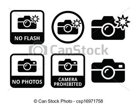 450x342 Camera Flash Clipart No Photos No Flash Cameras Icons Vector Icons