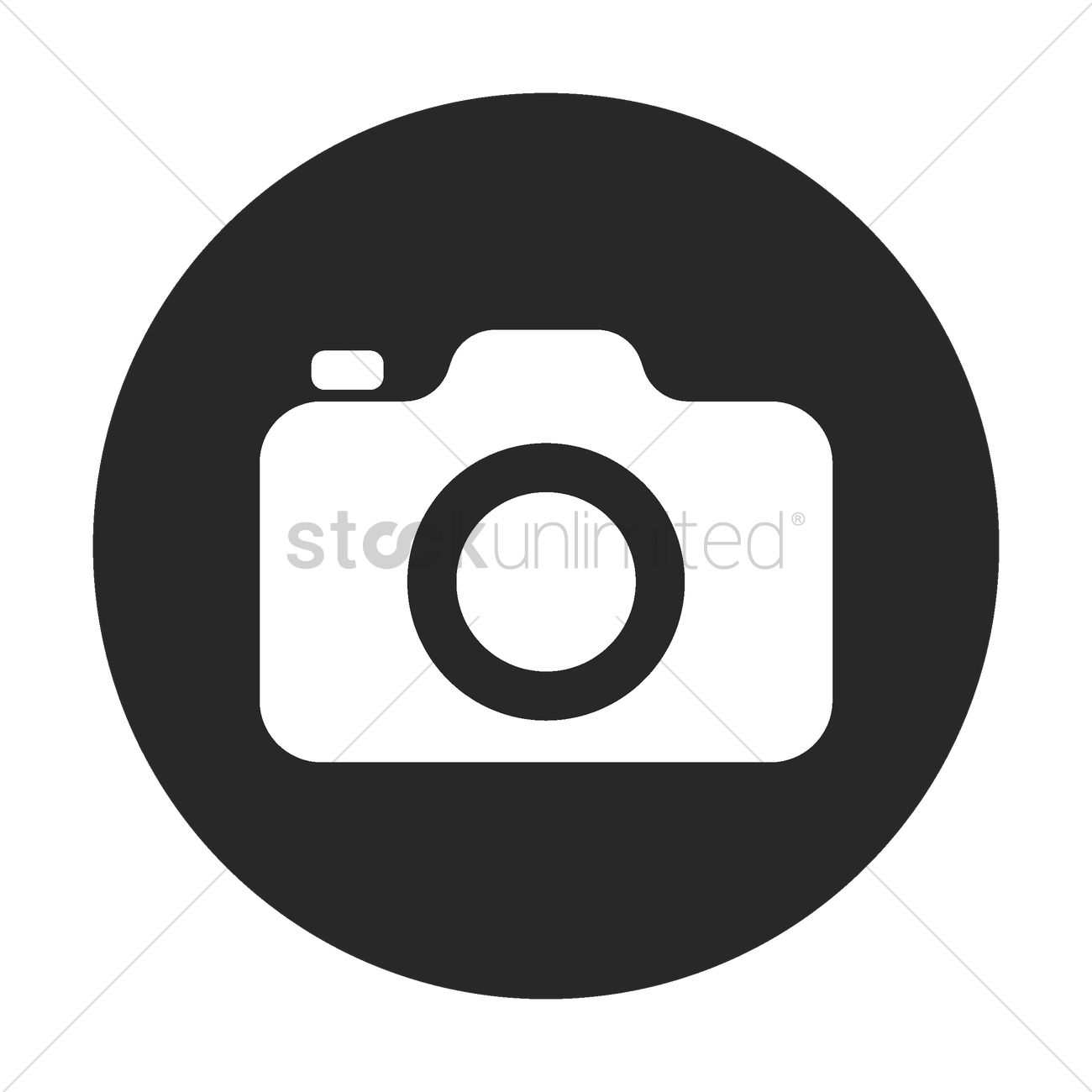 1300x1300 Camera Icon Vector Image
