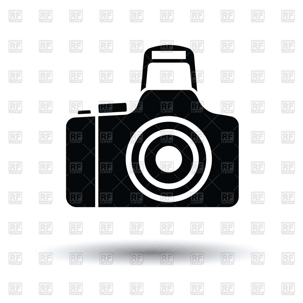 1200x1200 Photo Camera Icon Vector Image Vector Artwork Of Signs, Symbols