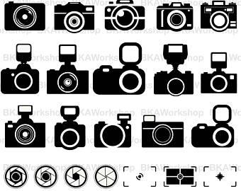 340x270 Camera Vector Etsy