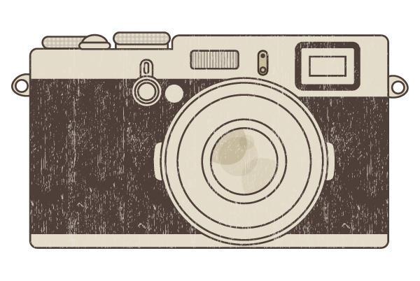 600x402 Retro Photo Camera Vector Illustration 123freevectors