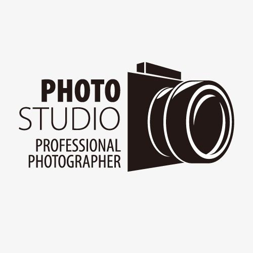 500x500 Vector,logo,mark,black And White,camera,creative Vector,camera