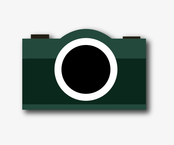 600x502 Camera Vector Flat, Vector, Flat, Dark Green Png And Vector For