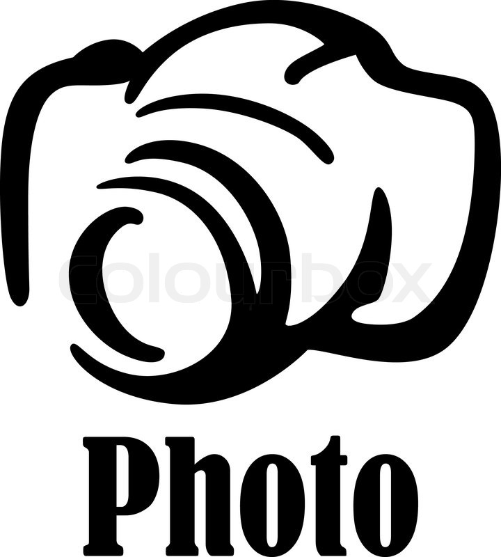 720x800 Black And White Sketch Digital Camera Icon Or Symbol For Art