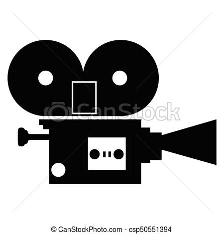 450x470 Isolated Camera Silhouette. Isolated Silhouette Of A Camera