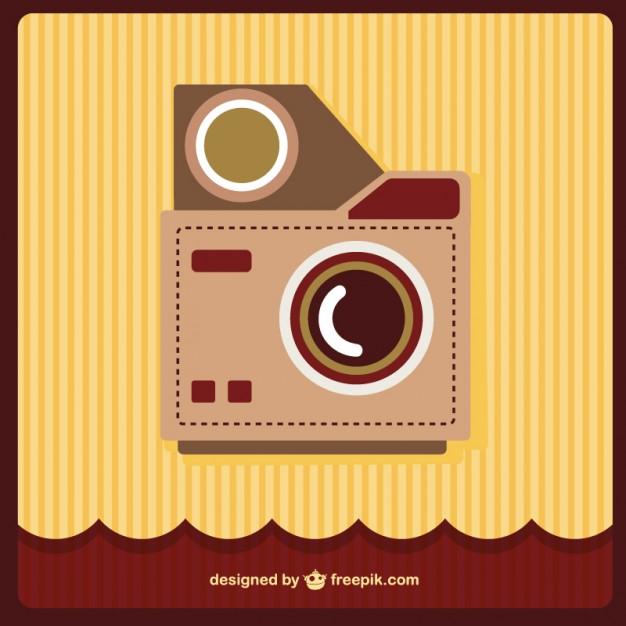 626x626 Retro Camera Vector Art Vector Free Vector Download In .ai, .eps