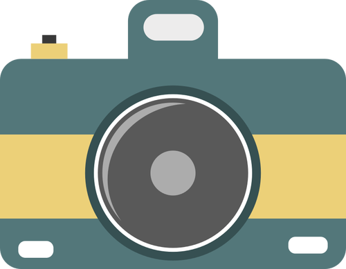 500x390 Digital Camera Clipart Vector