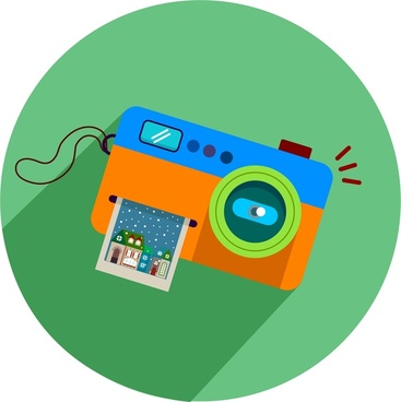 367x368 Camera Icon With Colored Design Style Png Images, Backgrounds And