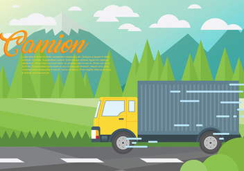 352x247 Camion Vector Background Free Vector Download 437699 Cannypic