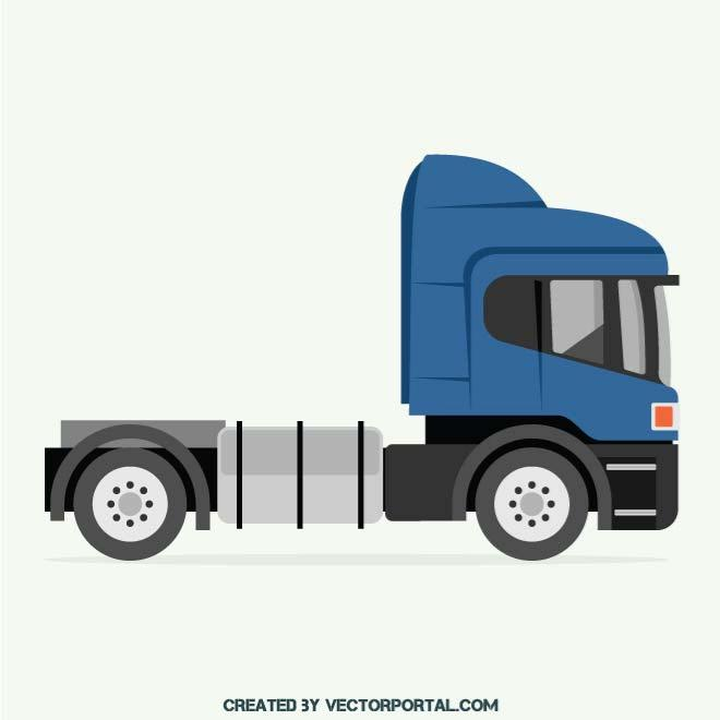 660x660 Vector Image Of A Truck