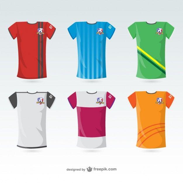 626x626 Camisetas De Vector Gratis Deportes Y Sport