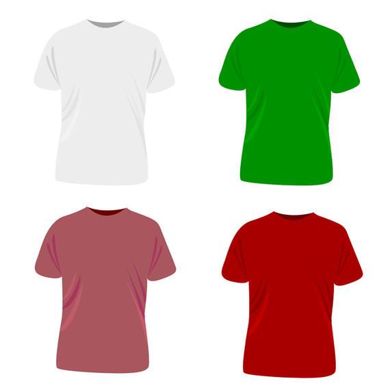570x570 Plantilla De La Camiseta Del Vector