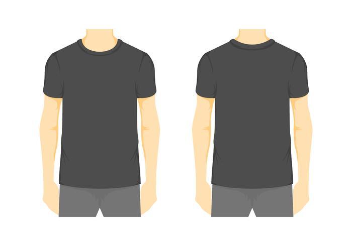 700x490 Plantilla De Camiseta En Blanco Vector 2