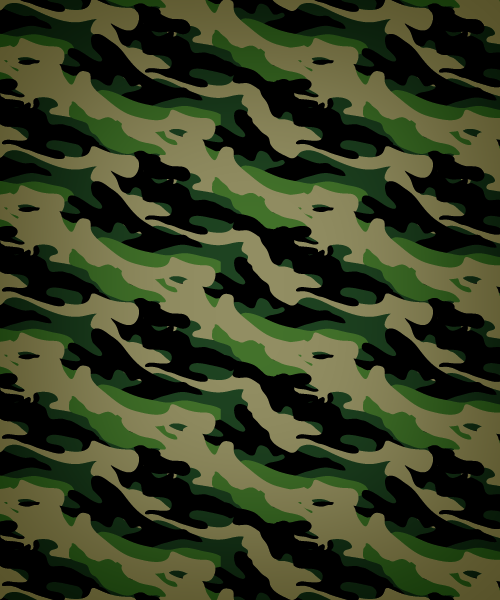 500x600 Army Camouflage Seamless Vector Pattern Vector Patterns