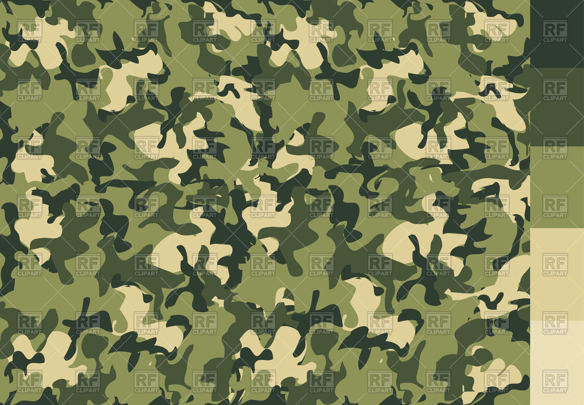 1200x832 Camouflage Pattern Vector Image Vector Artwork Of Backgrounds