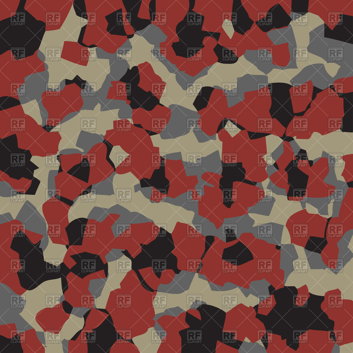 1200x1200 Camouflage Seamless Pattern Vector Image Vector Artwork Of