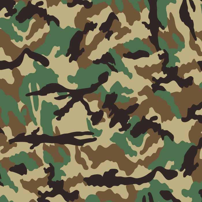 700x700 Woodland Camouflage Vector Pattern Article Reform