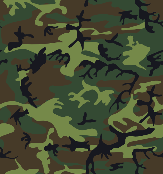 558x595 Camouflage Pattern Clip Art Free Vector 4vector