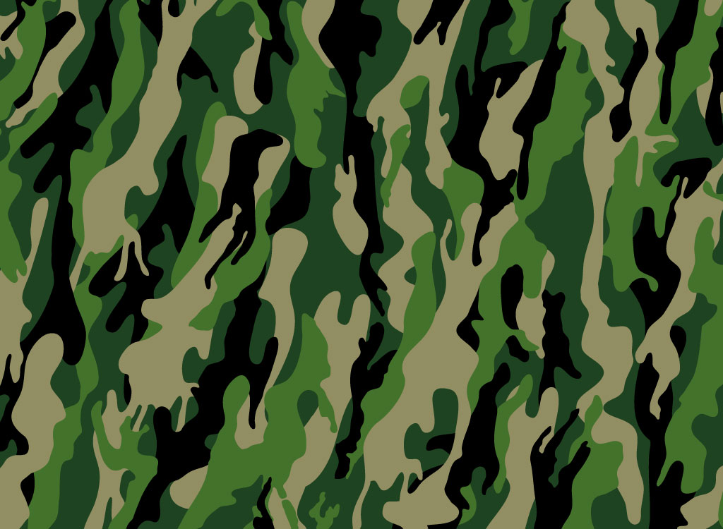 1024x750 Cool Camouflage Pattern