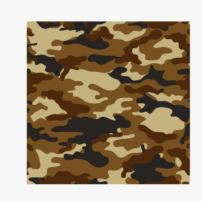 650x651 Vector Military Camouflage Yellow Brown Camouflage Patterns