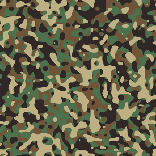 500x500 Camouflage Army Print Vector Illustration Public Domain Vectors