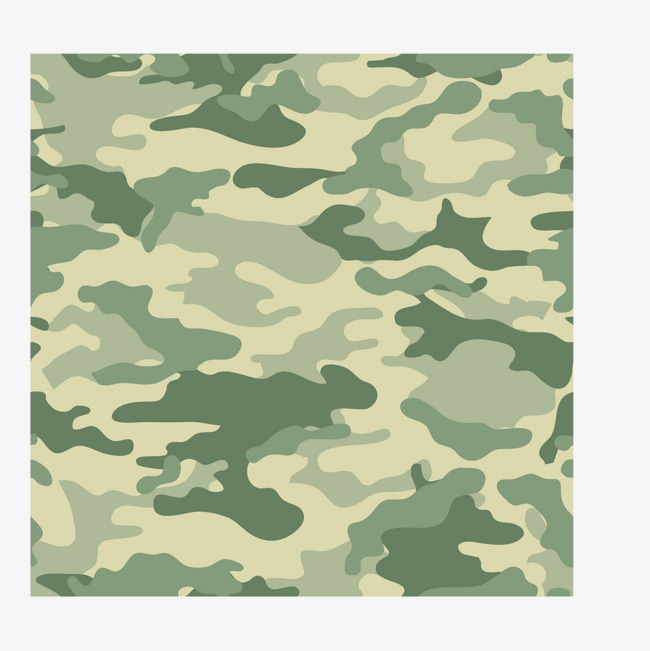 650x651 Vector Military Camouflage Light Green Pattern, Camouflage Vector
