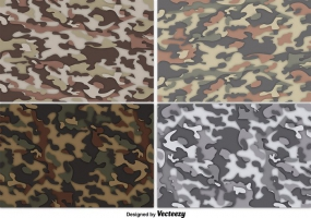 285x200 Army Camouflage Pattern Free Vector Graphic Art Free Download