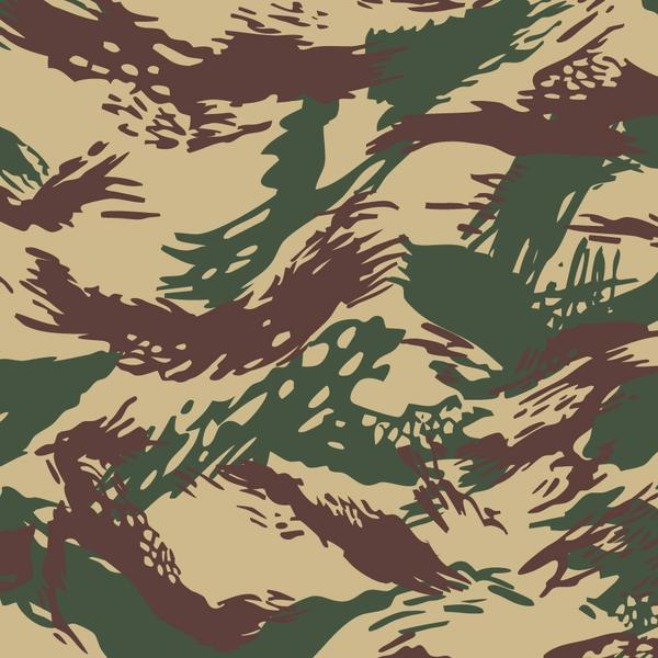 600x600 Greek Lizard Camouflage Vector Pattern Article Reform