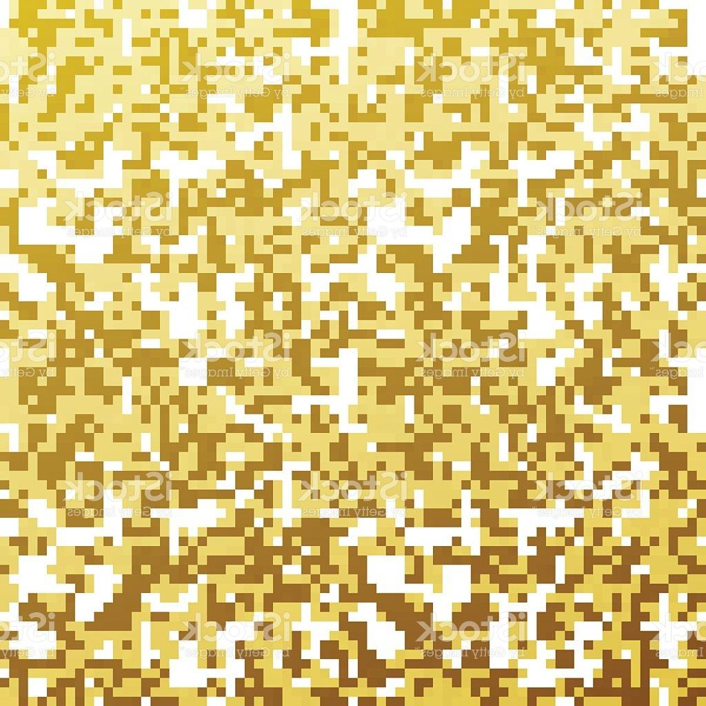 1024x1024 Unique Camouflage Vector Seamless Golden Pattern File Free