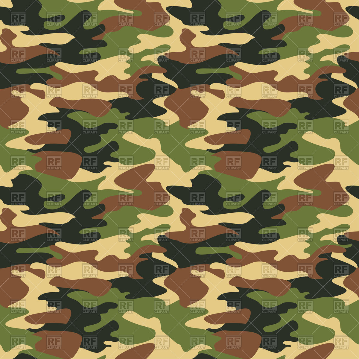 1200x1200 Camouflage Pattern Vector Image Vector Artwork Of Architecture