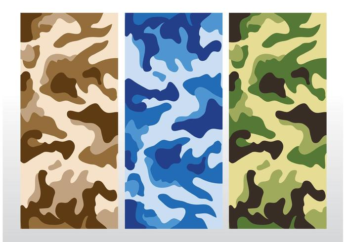 700x490 Camouflage Pattern Vector