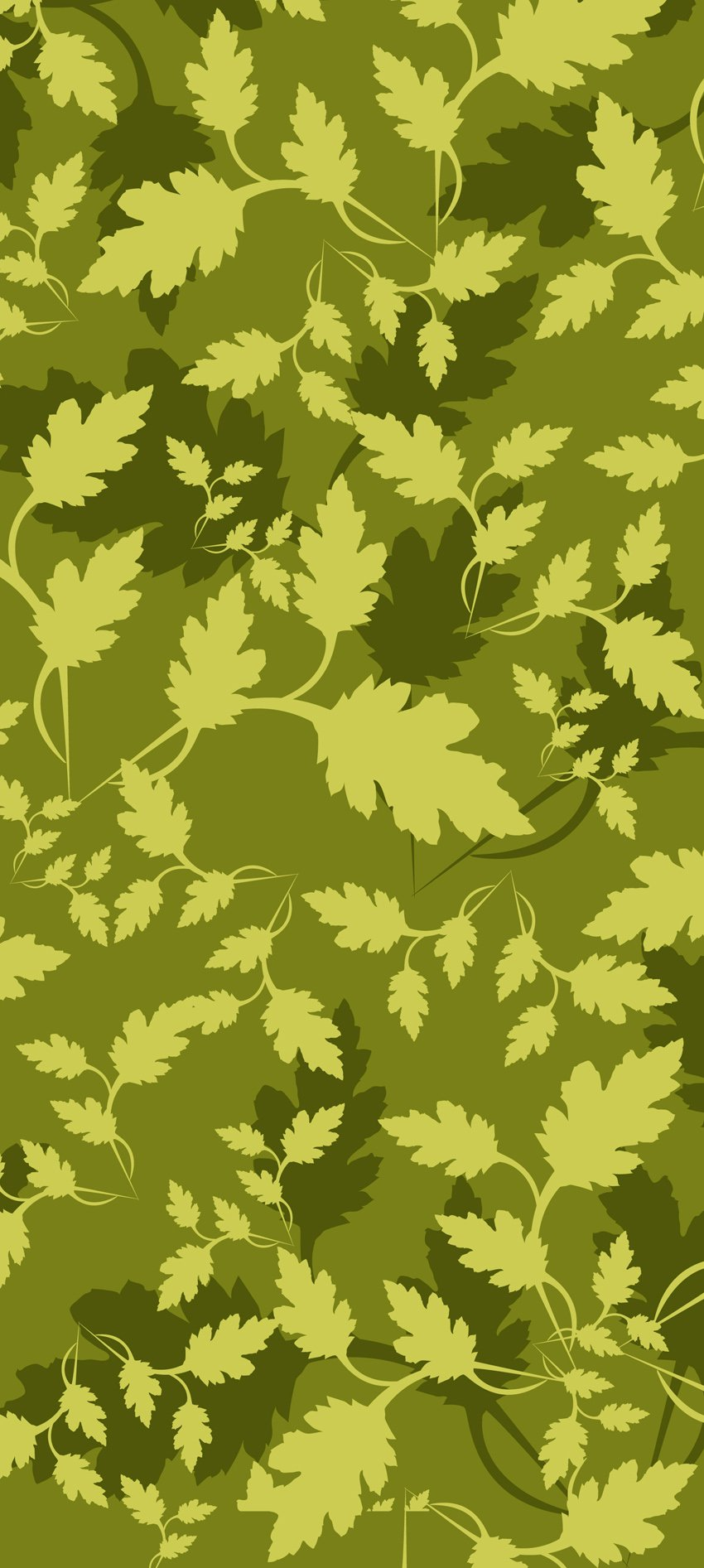 850x1893 Leaves Camouflage Pattern Vector Art Amp Graphics