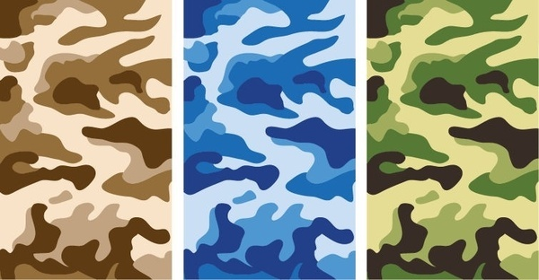 600x312 Vector Military Camouflage Pattern Free Vector Download (18,926