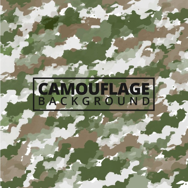 626x626 Watercolor Camouflage Background Vector Free Download