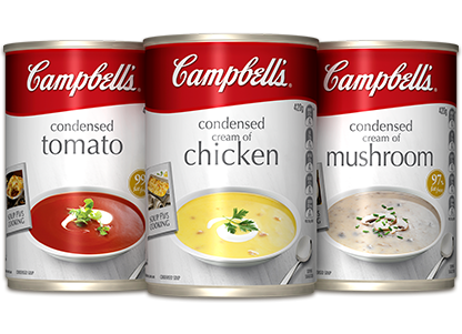 Campbell Soup Vector