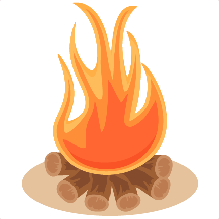 432x432 Campfire Vector
