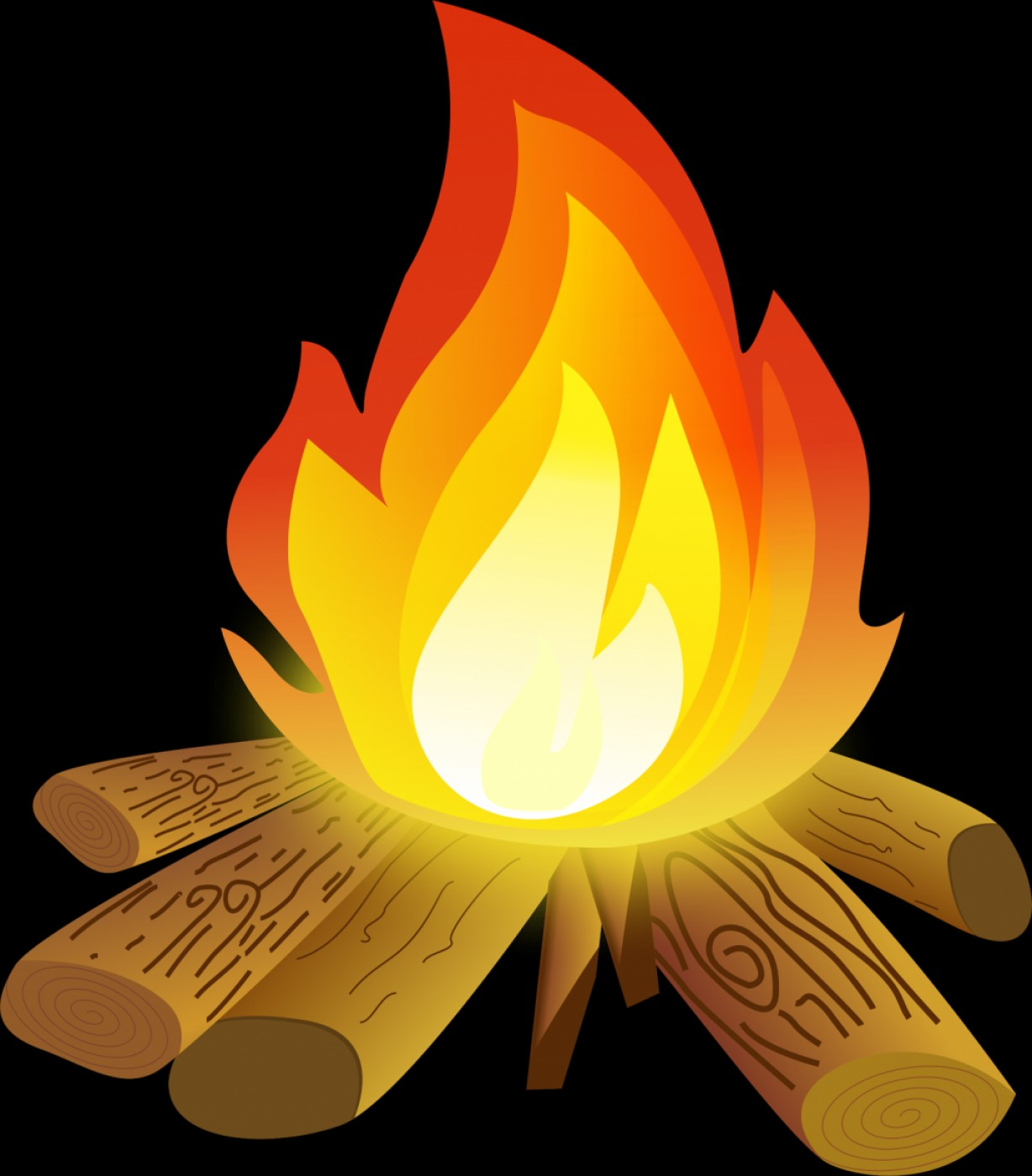 1228x1400 Best Free Campfire Hd Camp Fire Clipart Pictures Drawing Vector