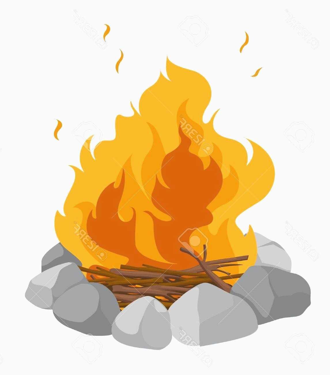 1145x1300 Fire Pit Clipart Free Unique Best Hd Cartoon Campfire Vector