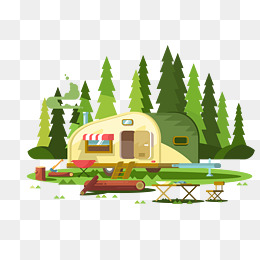 260x260 Camping Vector Png, Vectors, Psd, And Clipart For Free Download