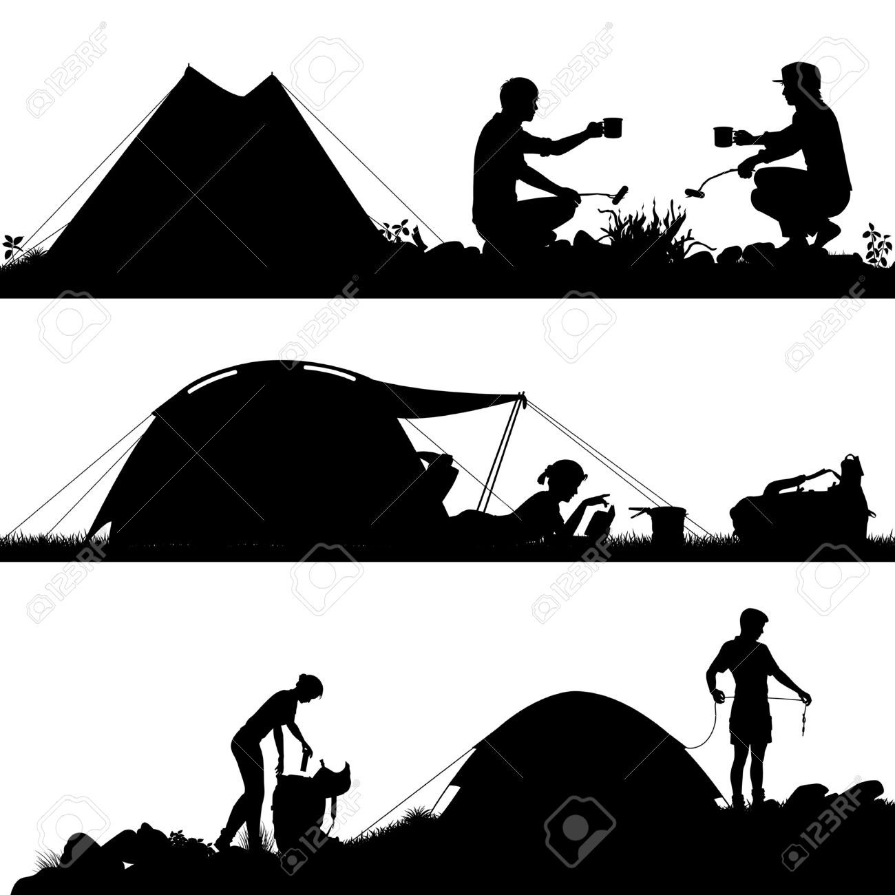1300x1300 Image Result For Camping Vector Vacationcampingplaces