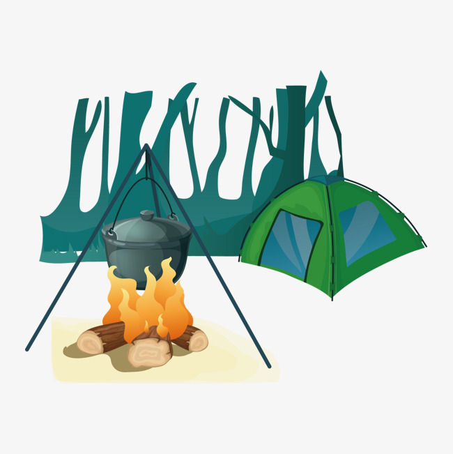 650x651 Vector Camping, Camping Vector, Vector, Camping Png And Vector For