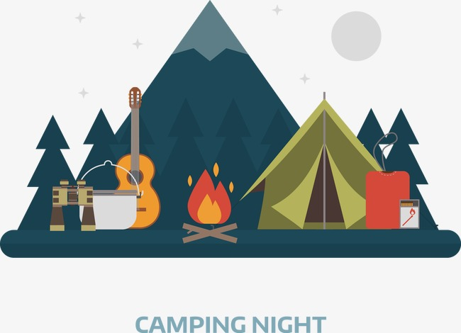 650x470 Vector Camping, Vector, Decoration, Camping Png And Vector For