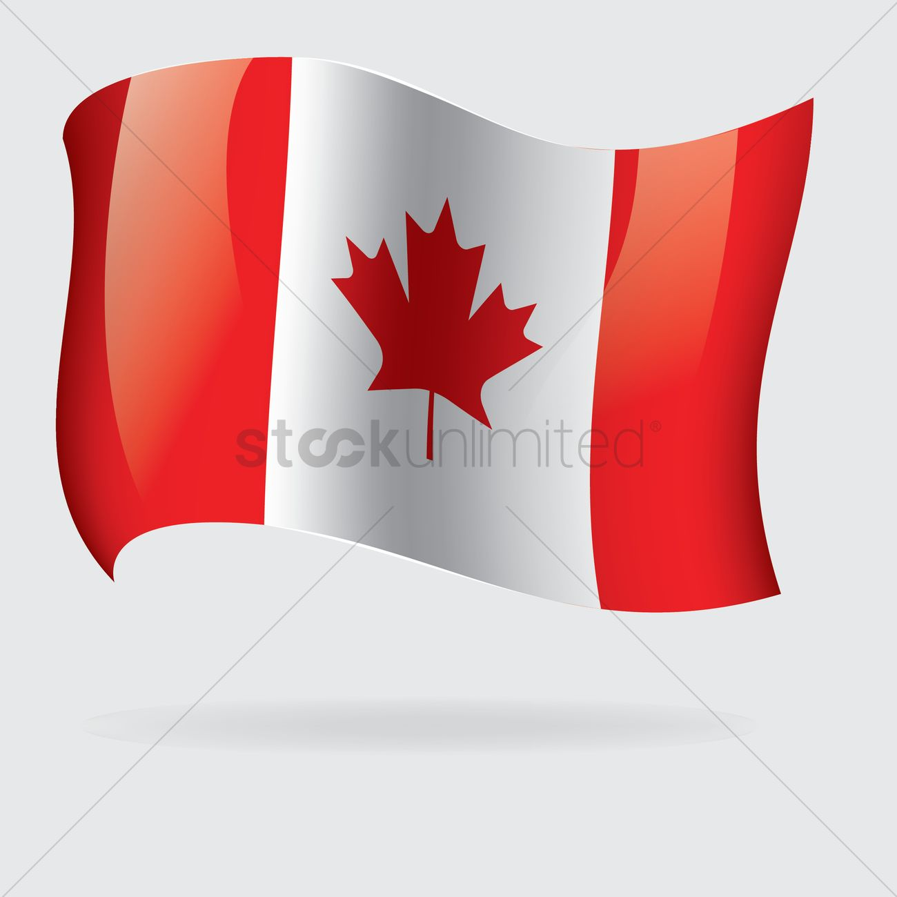 1300x1300 Canada Flag Vector Image