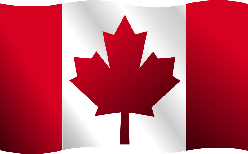 800x498 Canadian Flag Free Vector 4vector