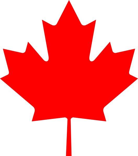 528x596 Flag Of Canada Leaf Clip Art Free Vector 4vector