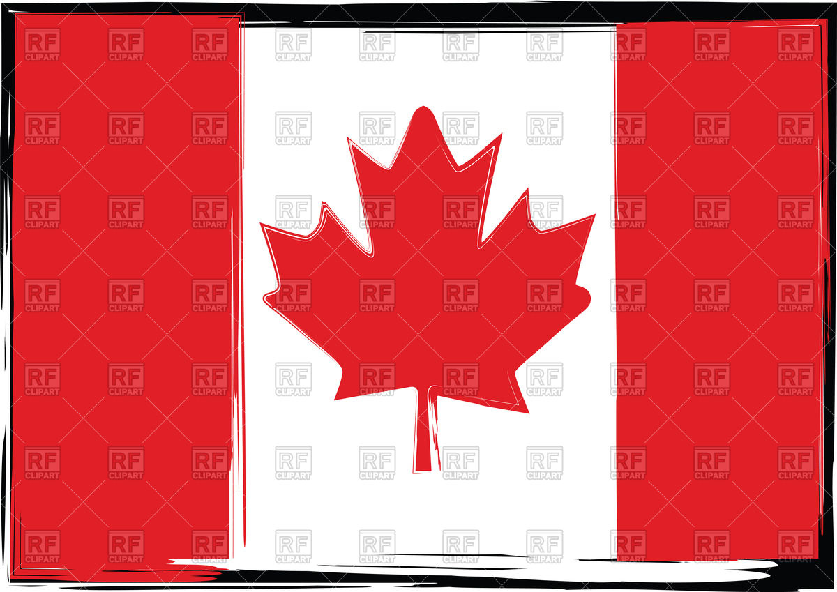 1200x849 Grunge Canada Flag Vector Image Vector Artwork Of Flags