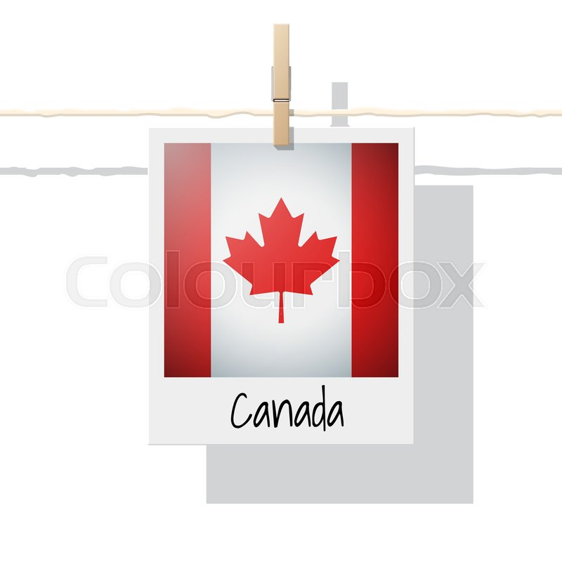 800x800 North America Continent Flag Collection With Photo Of Canada Flag