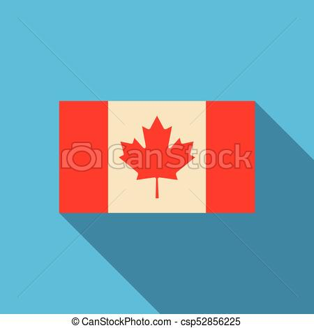 450x470 Flag Of Canada In National Official Colors And Proportions With A