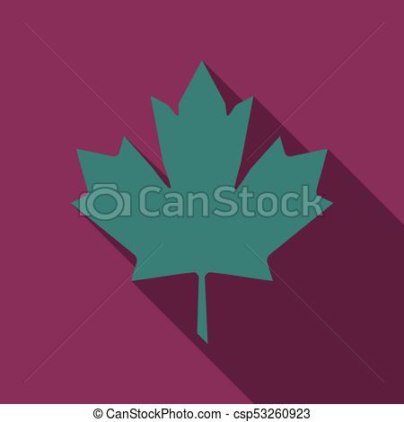 450x470 Maple Leaf Vector Icon. Maple Leaf Vector Illustration. Canada